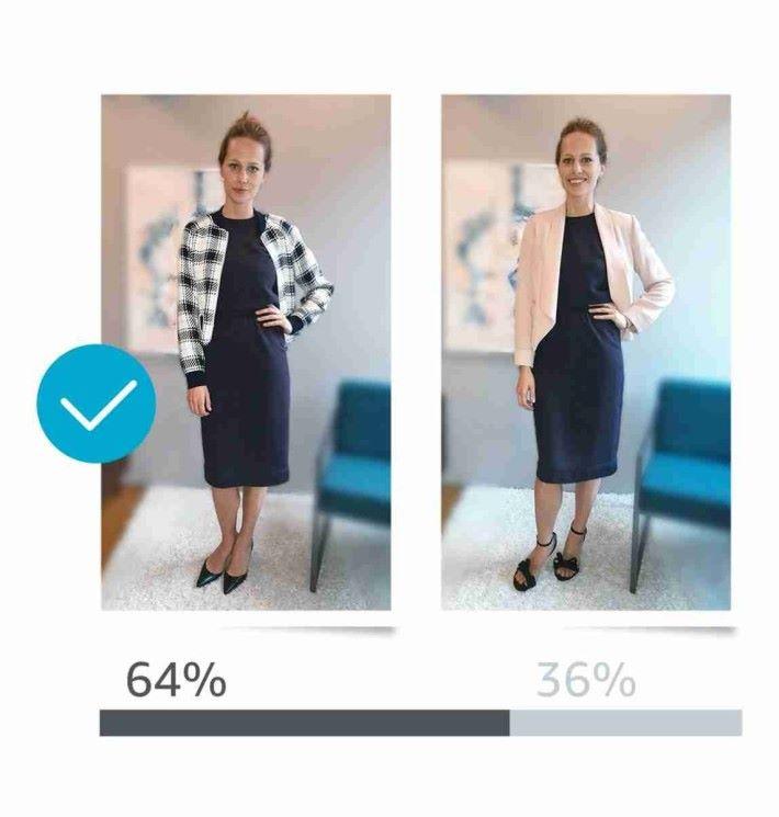 利用「Style Check」可以作服飾比對