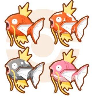 玩家可以抽到不同的鯉魚王
