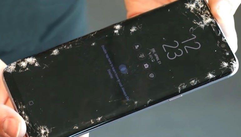 外國評級 Galaxy S8 是一跌即碎的最強手機 ?