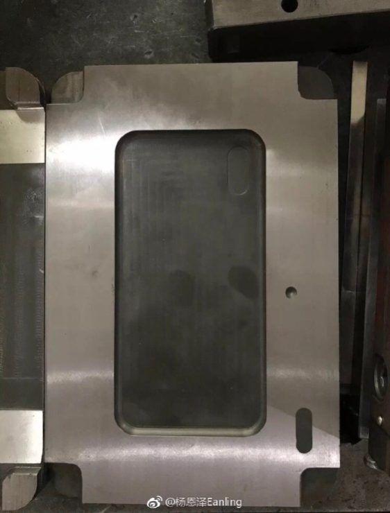 連倒模也有著一直流傳的 iPhone 8 直立式雙鏡特點