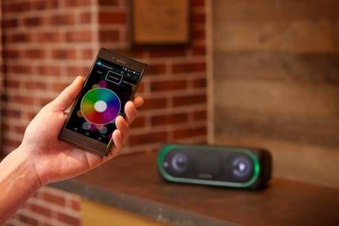 利用手機更可化身 DJ 控制燈光轉變
