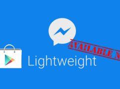 瘦身版 Facebook Messenger Lite 香港終於上架啦