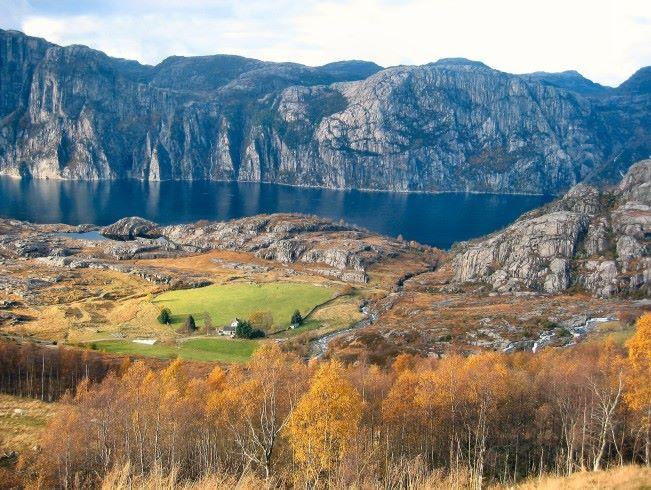 錯有錯著去了挪威小鎮 Fossmork