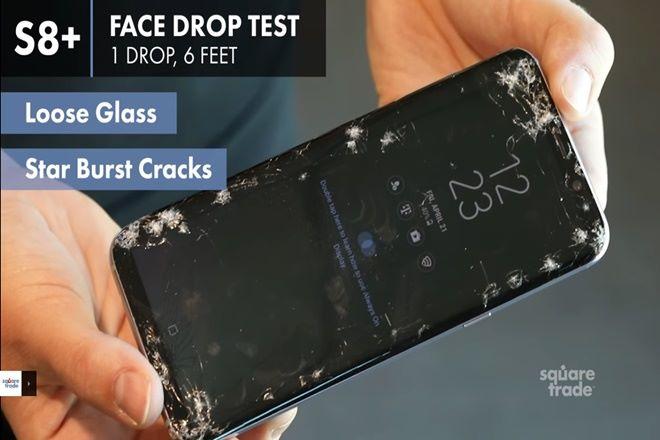 S8 被評為最脆弱的手機。