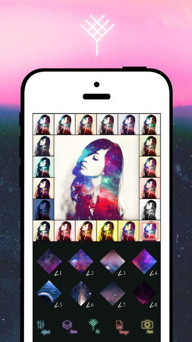 15款濾鏡加上20種顏色,合共 300個組合。