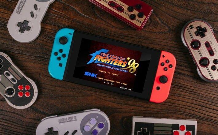 用超任手掣玩 Switch 不是夢。