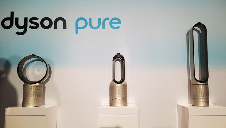 Dyson Pure 系列新風扇 更有效淨化空氣