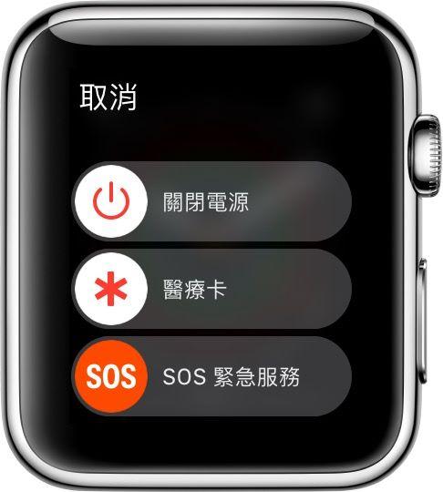 Apple Watch SOS  功能。