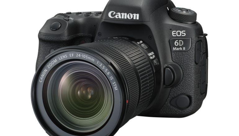 賣點係冇4K拍攝 Canon 6D MK2 發表