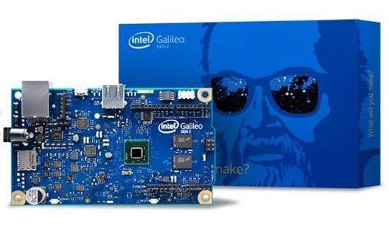 Galileo 是跟 Arduino 合作的產品,針對創客市場。