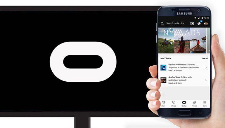 將手機 VR 場面投射到電視 Chromecast for Gear VR