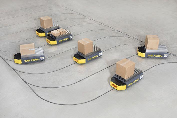 德國的物流公司貨物自動派送,也運用STEM運算思維。