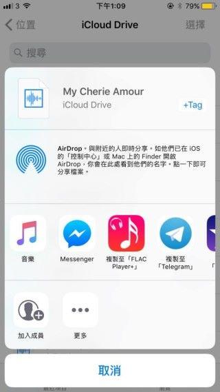 Apple Music 不支援 Flac 檔播放;可選擇第三方如「Flac Player」開啟