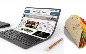 Lenovo 展示未來電腦可自由彎曲!網民:似墨西哥捲餅