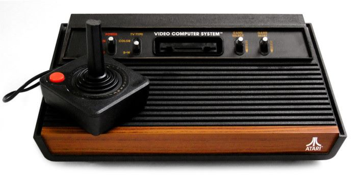 70年代經典遊戲主機 ATARI 2600