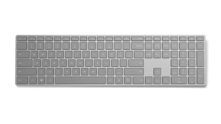 Microsoft 推出具備指紋解鎖功能的 Modern Keyboard。