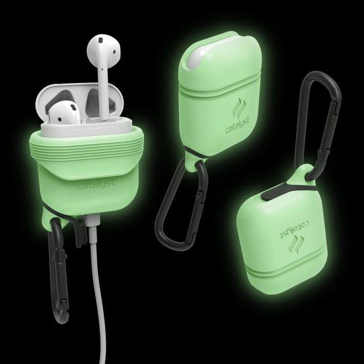 能為充電盒提供額外保護的保護套。