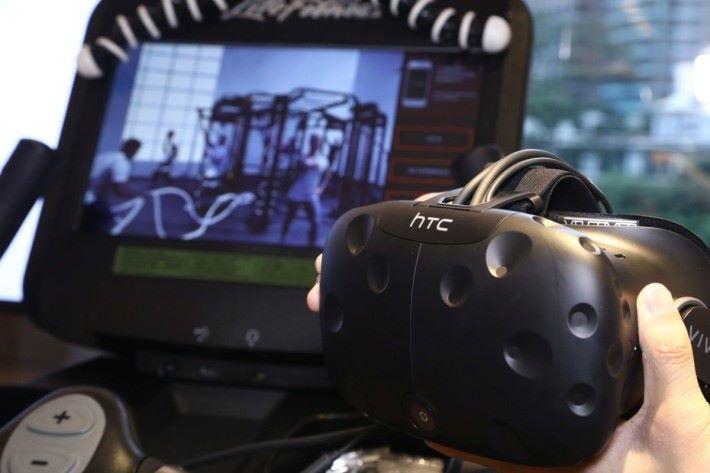 以HTC Vive 作為 VR 推動系統