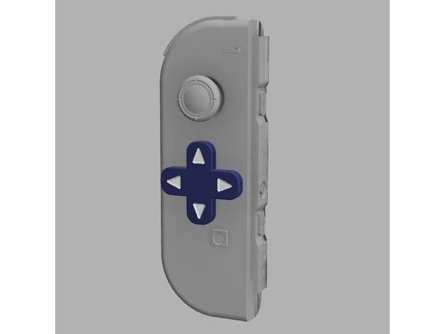 Switch Dpad Mod 自己動手打印