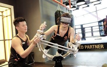 玩住 VR 做 Gym ICAROS VR健身模擬器登陸香港
