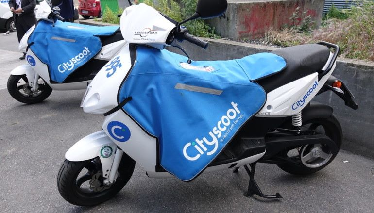 仲講共享單車?法國人搞共享電單車Cityscoot
