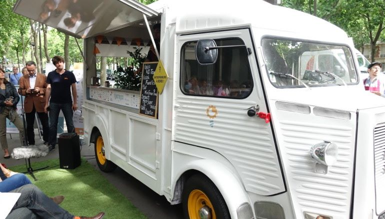 Fund Truck 美食車變身Startup路演台 走遍法國