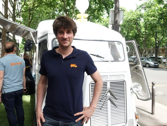 Benjamin Wattinne 認為,傳統路演太刻板,開創路演車搞新意。