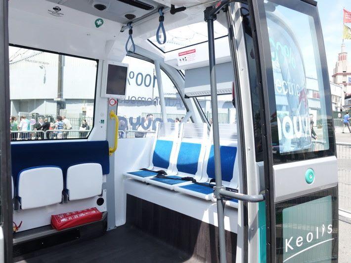 車內可載 15 人,適合作接駁穿梭巴士。