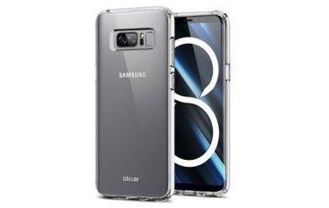 屏幕指紋解鎖未有住 Samsung Note 8 手機套設計曝光