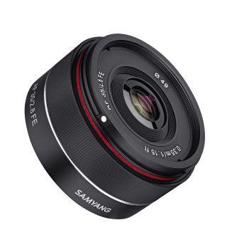 Samyang AF 35mm f/2.8 為 Sony 全片幅無反而設。