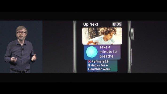 Siri 錶面