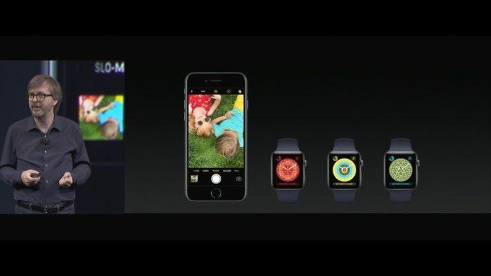 可以用 iPhone 的照片製仍萬花筒錶面