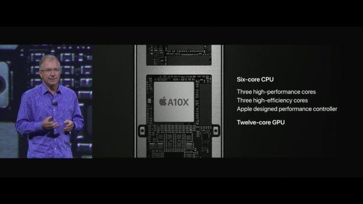 新機用上64bits 6核 A10X Fusion 處理器。