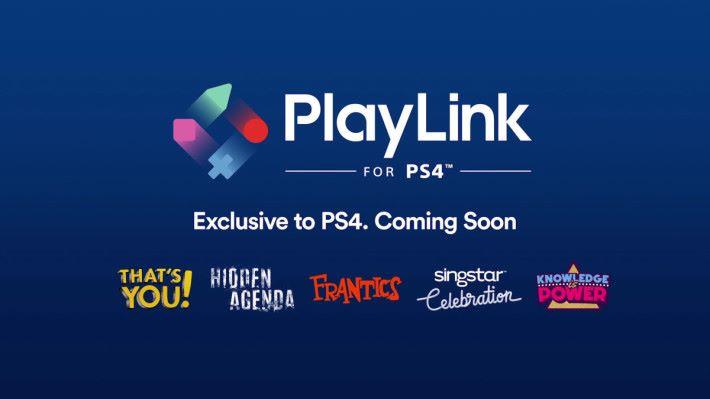 公布了 5 款專為 PlayLink 系統設計的遊戲。