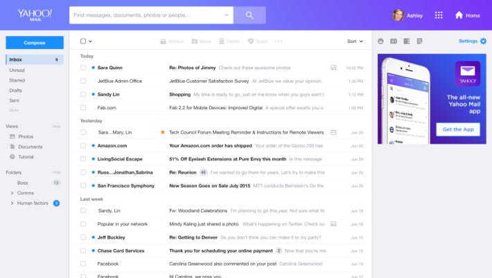 新[版面變得簡潔得多,以為自己在用 Gmail。