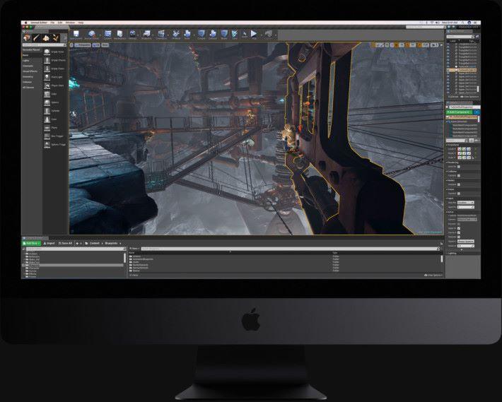 iMac Pro 處理 VR 場面只是小菜一碟