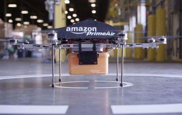 [科幻電影場面] Amazon 申請無人機物流中心專利