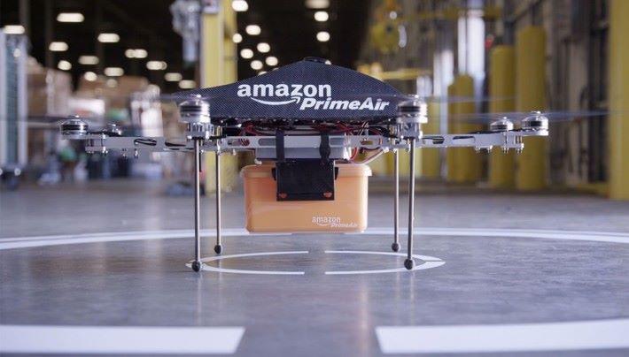 Amazon 積極發展無人機貨運服務。