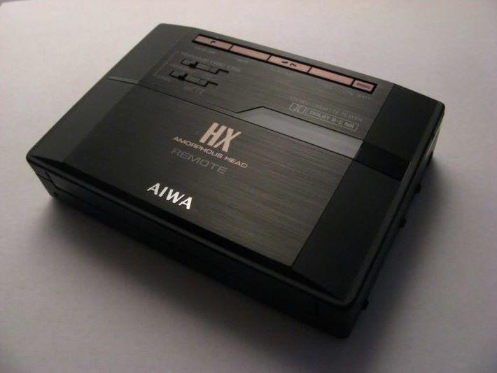 AIWA 的卡式錄音帶播放器,曾經和 Sony 齊名。