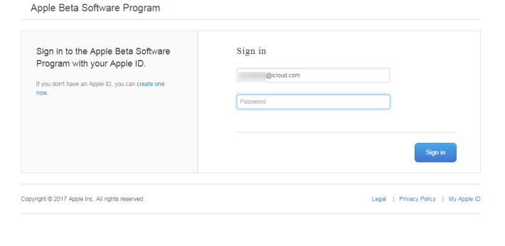 以 iCloud 帳戶登入