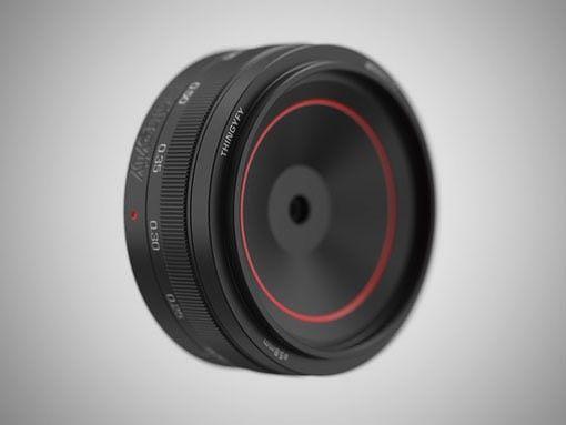 這支 Pinehole Pro 上有一個紅圈設計。
