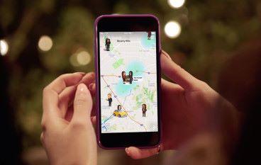 Snapchat 加入新功能 密友踪影無所遁形