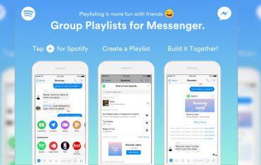 【好歌齊齊聽】Facebook Messenger 內共建 Spotify 歌單