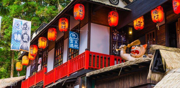 到處都是日式建築,隨時以為自己身於日本。