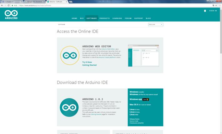 Arduino IDE 編程軟件支援Windows、macOS 及 Linux 平台。