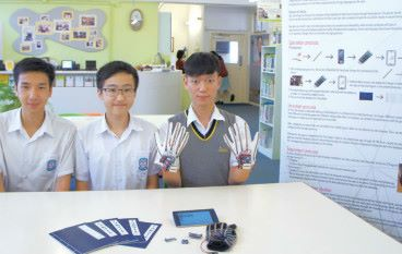 打破無聲世界 宣基中學生製手語翻譯手套