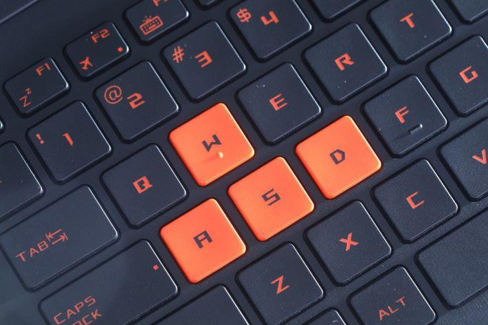 GL502VS 的鍵盤只有 1.6mm的鍵程,觸發反應靈敏快捷,並且具備 30 鍵防衝突設計,方便輸入遊戲指令或複雜的微操作。