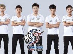 台灣 Samsung 成立手遊《傳說對決》職業電競隊