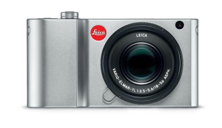Leica TL2 的線條較前代圓滑。