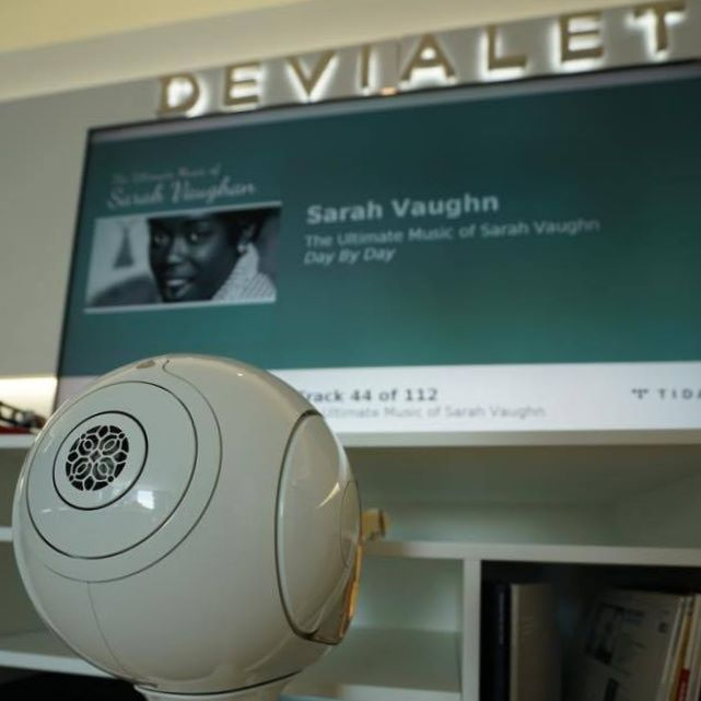 .Devialet 貴賓試音室陳設簡單,和一般影響試音室分別好大。